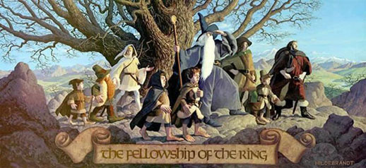 La compagnia dell'anello - Hildebrandt