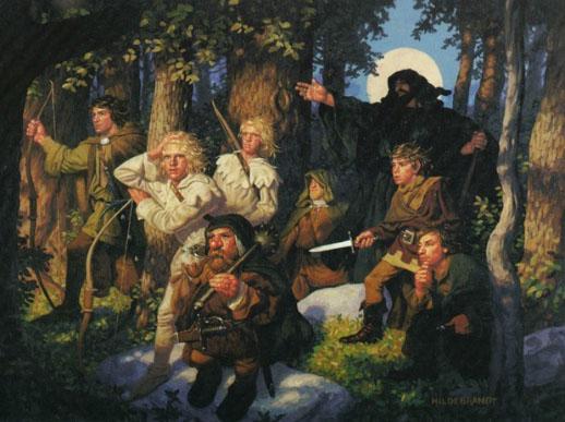 Illustrazione dei fratelli Hildebrandt