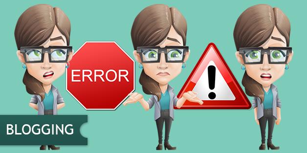 Errori blog aziendale