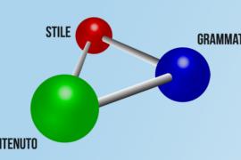 La formula chimica della scrittura