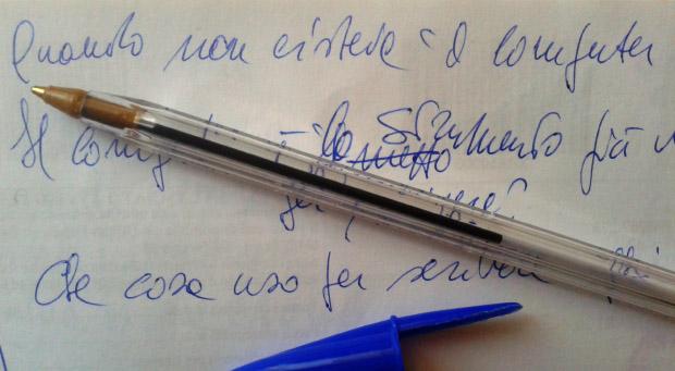 Gli strumenti per la scrittura