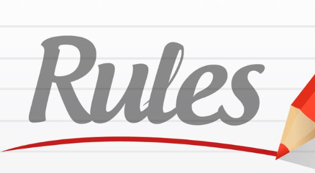 Le mie regole sulla pubblicazione