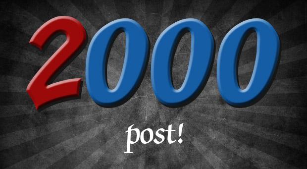 2000 post su Penna blu