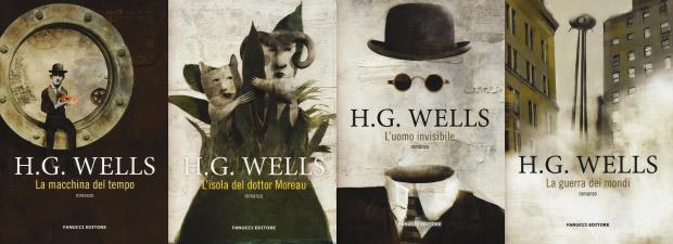 4 romanzi di Herbert G. Wells