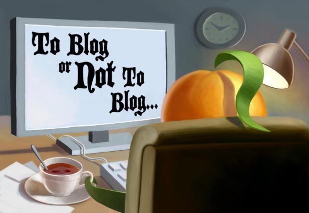 Lo scrittore moderno e il blogging