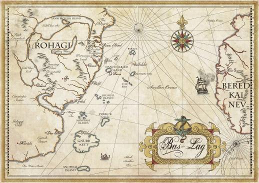 Mappa di Bas-Lag