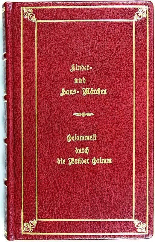 Prima edizione delle fiabe dei Fratelli Grimm