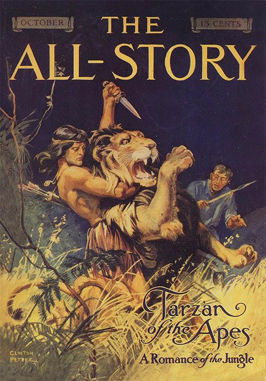 Copertina Tarzan 1912