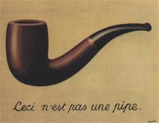 Uso della parola, quadro di Magritte