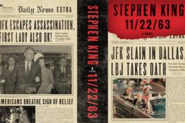 Copertina del romanzo 11/22/63 di Stephen King