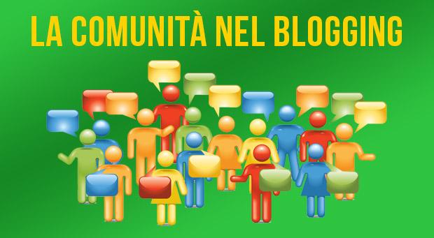 Comunità nel blogging