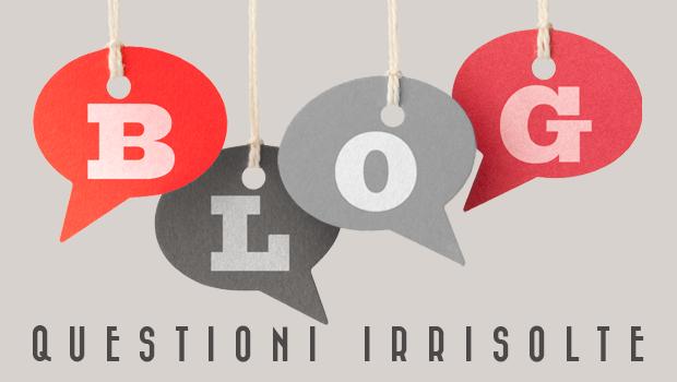 5 questioni sul blogging