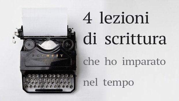 Lezioni di scrittura